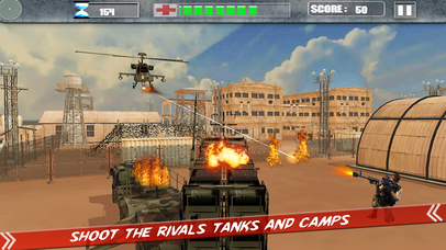 Helicopter Defence Strike - 3d Anti Aircraft Games screenshot 3