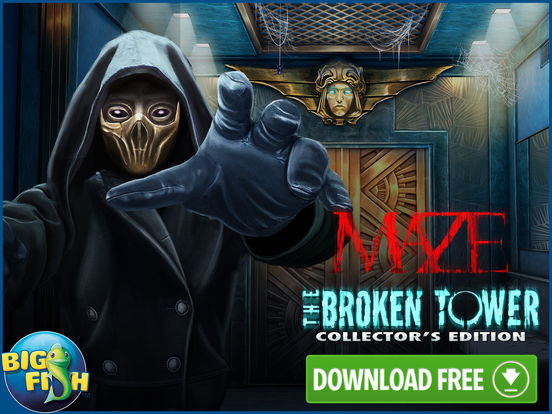 Maze: The Broken Tower - Hidden Objects screenshot 10