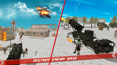 Helicopter Defence Strike - 3d Anti Aircraft Games screenshot 4