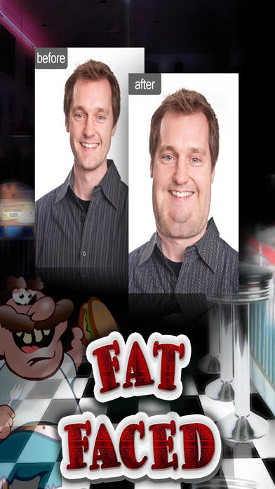 Fat Face Changing Photo Booth Pro screenshot 1