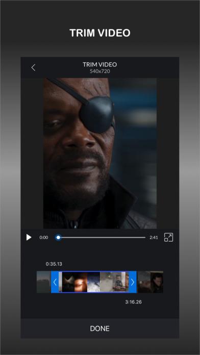 CrVid - Great video editor! screenshot 3