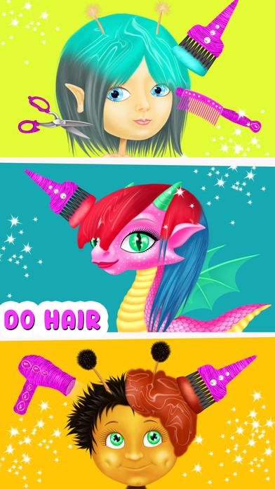 Fairyland 4 Meadow Princess - Makeup & Hair Salon screenshot 2