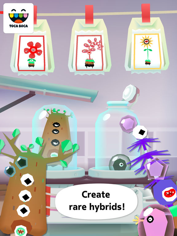 Toca Lab: Plants screenshot 9