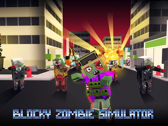 Blocky Zombie Simulator Full screenshot 5