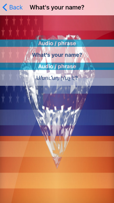 Armenian Phrases Diamond 4K Edition screenshot 3