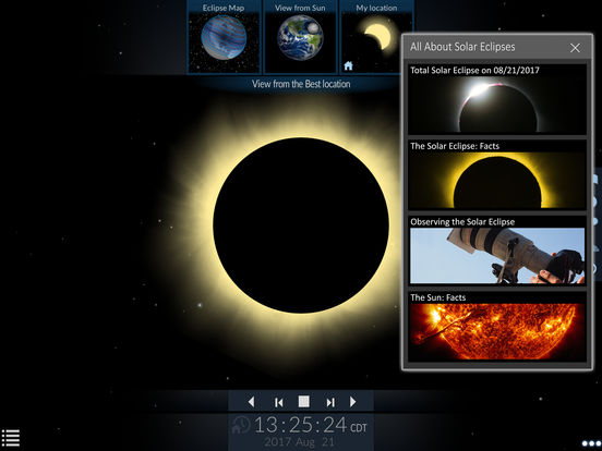 Solar Eclipse by Redshift screenshot 7