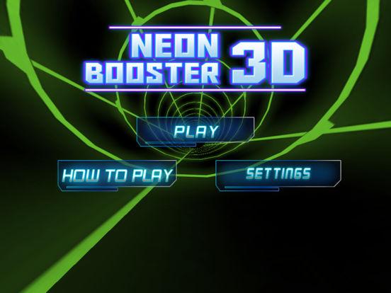 Neon Booster 3D screenshot 6