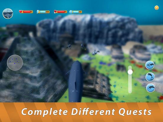 Blue Whale Family Simulator Full screenshot 8