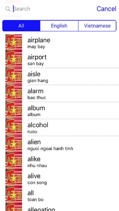 Vietnamese Dictionary GoldEdition screenshot 3