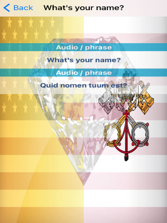 Latin Phrases Diamond 4K Edition screenshot 6