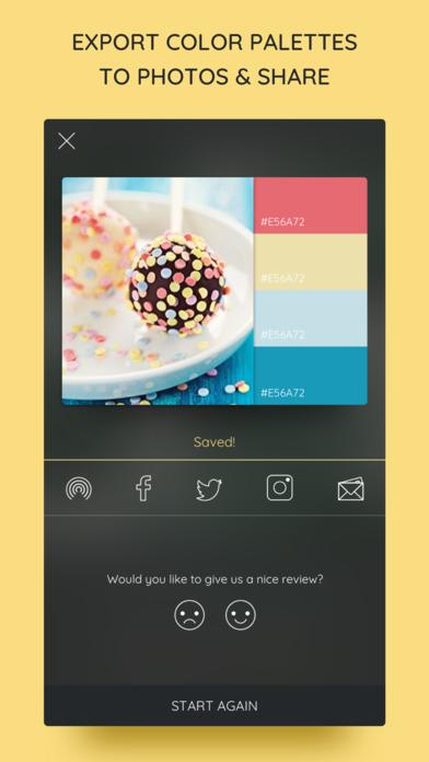 iPalettes - Color palettes screenshot 5