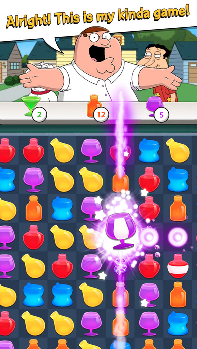 Family Guy Freakin Mobile Game screenshot 1