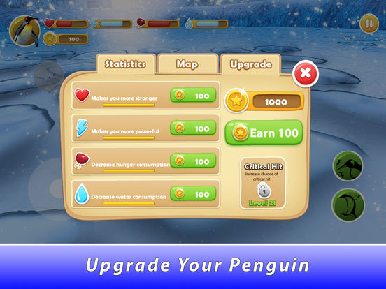 Penguin Family Simulator Full screenshot 8