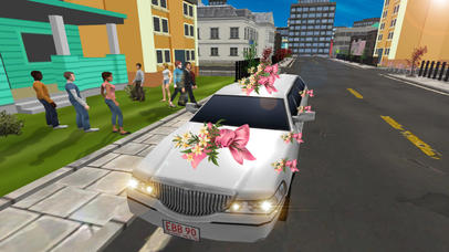 Limo Wedding Transport with Luxurious Parking screenshot 1