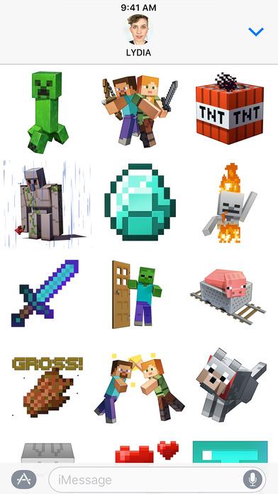 Minecraft Sticker Pack screenshot 2