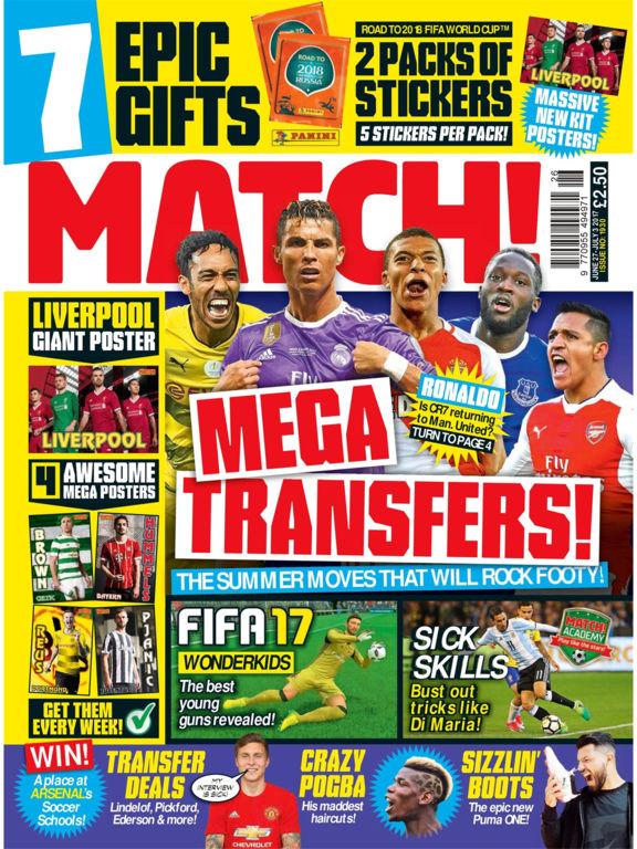 Match Magazine screenshot 6
