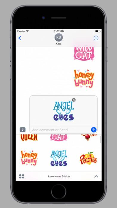Love Name Stickers screenshot 3