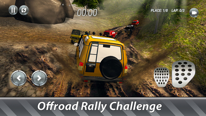 SUV Offroad Rally Full screenshot 3