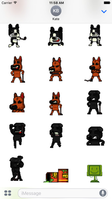 Dog Gone Golfing Sticker Pack screenshot 2