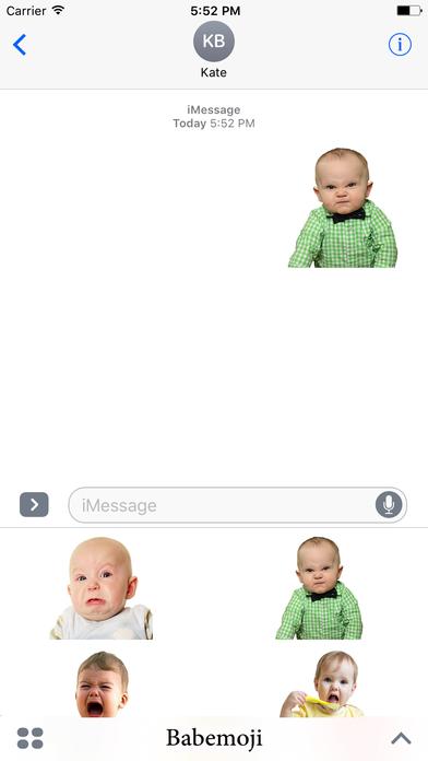 BabeMoji-Baby Emojis screenshot 1
