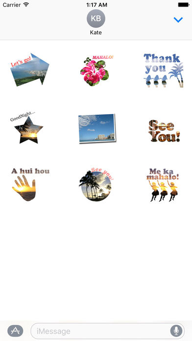 Aloha Hawaii Sticker screenshot 2