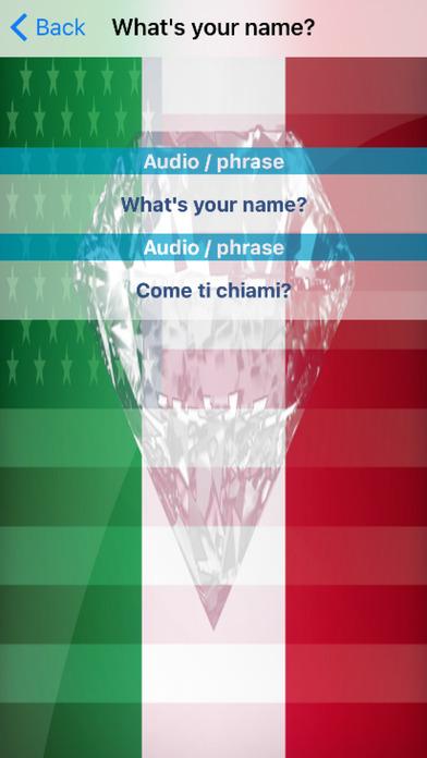 Italian Phrases screenshot 3