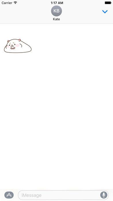 Animated Gluttony Hamster Gif Stickers screenshot 2
