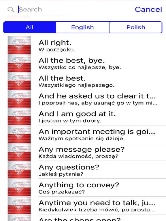 Polish Phrases Diamond 4K Edition screenshot 4