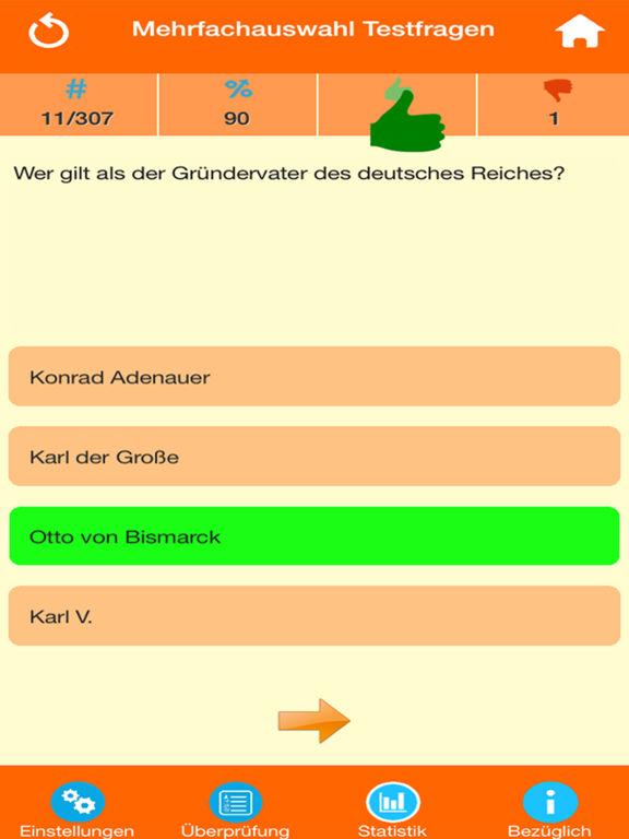 Deutsche Geschichte Quiz screenshot 7