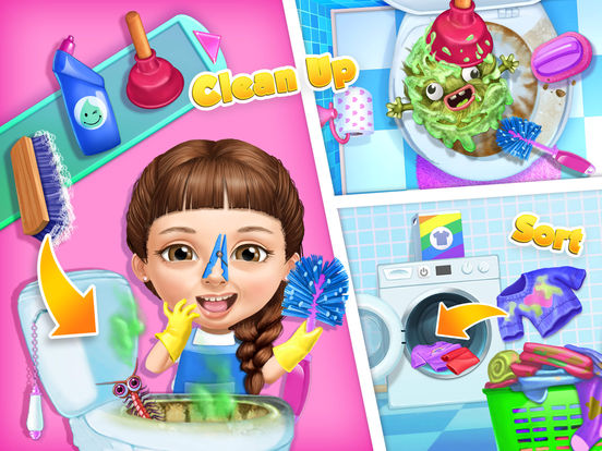 Sweet Baby Girl Cleanup 5 - No Ads screenshot 9