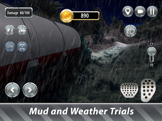 Oil Truck Offroad Driving Full screenshot 7
