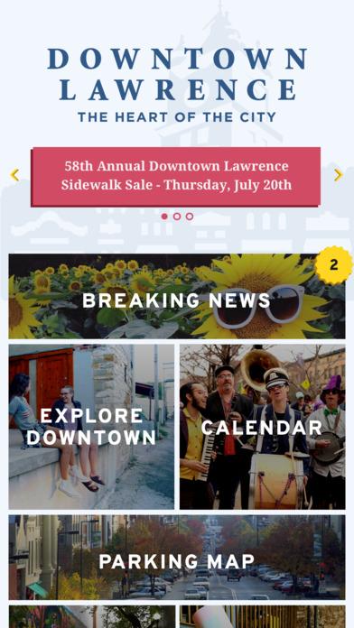 Downtown Lawrence screenshot 1