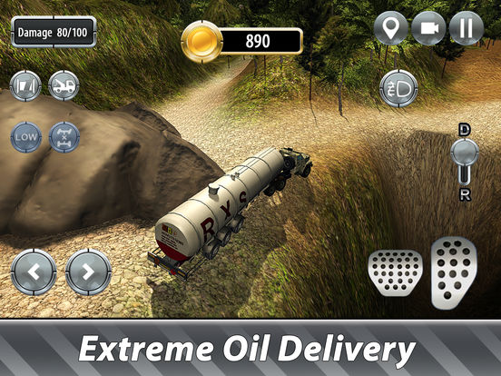 Oil Truck Offroad Driving Full screenshot 6
