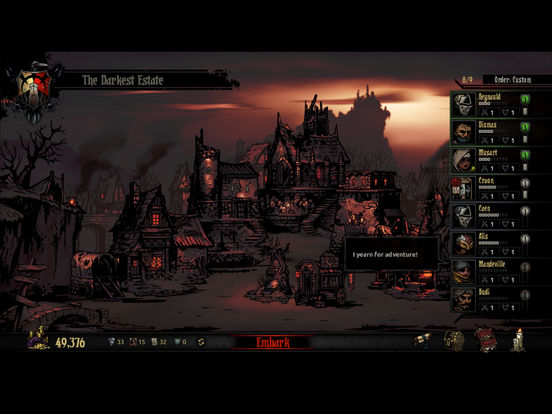 Darkest Dungeon:Tablet Edition screenshot 3