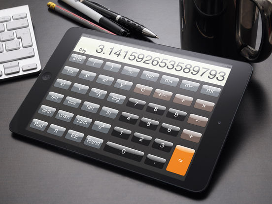 Calculator ® for iPad screenshot 3