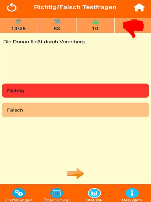 Österreich Wissenstests screenshot 8