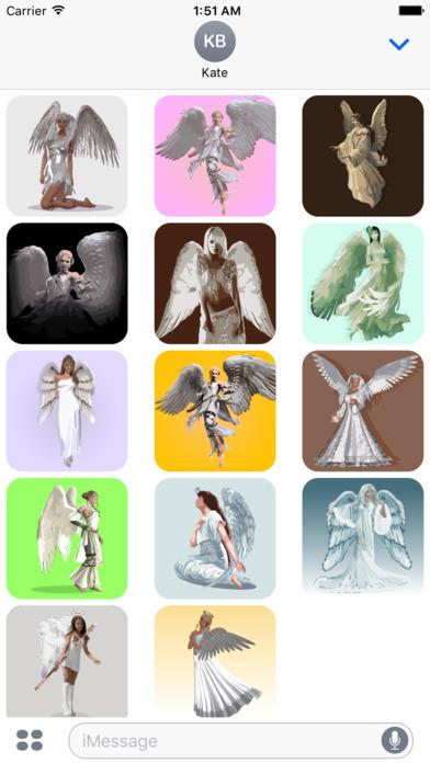 Angels sticker pack screenshot 1
