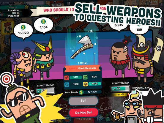 Holy Potatoes! A Weapon Shop?! for iPad screenshot 3