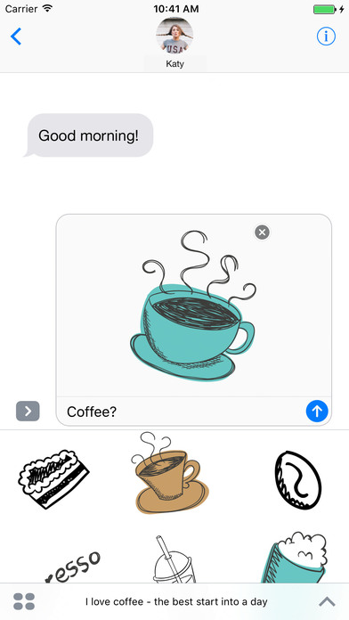 I love coffee - the best start into a day screenshot 1