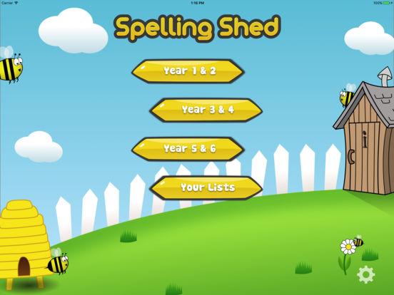 Spelling Shed screenshot #1