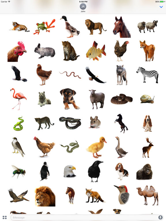 Animals Stickers+ screenshot 4