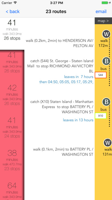 Staten Island Public Transport Guide screenshot 3