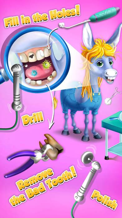 Farm Animals Hospital Doctor 3 - No Ads screenshot 4