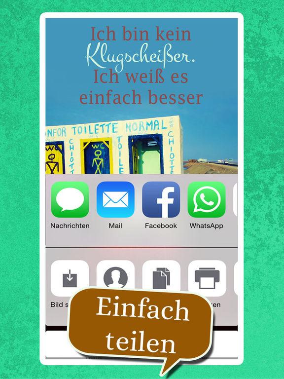 Coole neue Sprüche - Spruchbilder Witze zum Posten screenshot 9