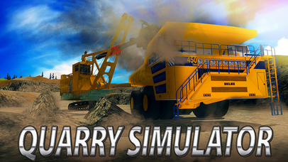 Quarry Machines Simulator screenshot 1