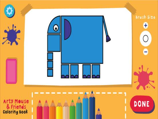 Coloring Book [toddler] screenshot 7