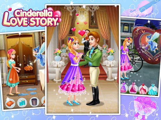 Cinderella Love Story - Fun Games screenshot 6