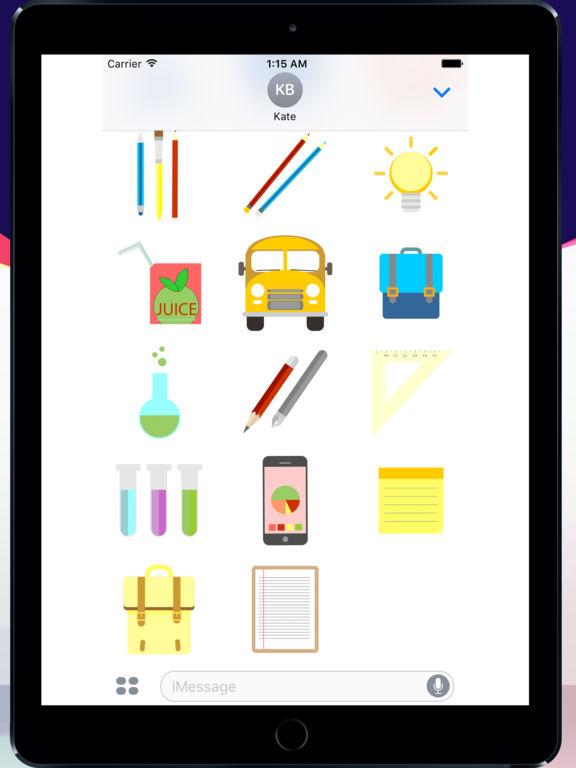 Super school sticker pack screenshot 5