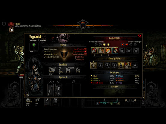Darkest Dungeon:Tablet Edition screenshot 4
