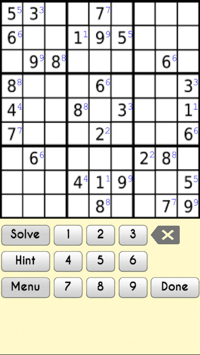Complete Sudoku Puzzles 2- Full Featured Game screenshot 4